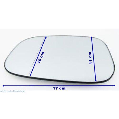 VOLVO ALKATRÉSZ : 30762571-1043243-2-Volvo-Visszapillantó tükörlap vezetőoldali