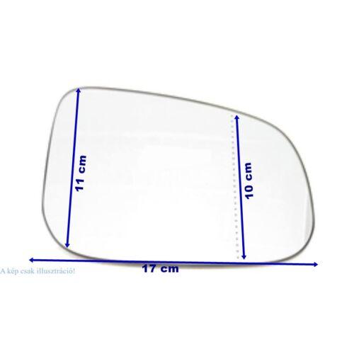 VOLVO ALKATRÉSZ : 30762572-1043244-2-Volvo-Visszapillantó tükörlap utasoldali