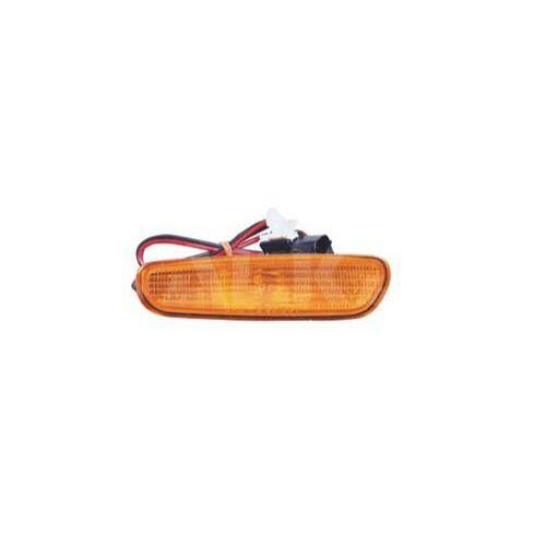 VOLVO ALKATRÉSZ : 30613665-1005297-Volvo-Szélességjelző lámpa, bal első vagy jobb hátsó, sárga
