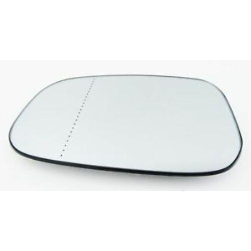 VOLVO ALKATRÉSZ : 30762571-1019136-Volvo-Visszapillantó tükörlap vezetőoldali